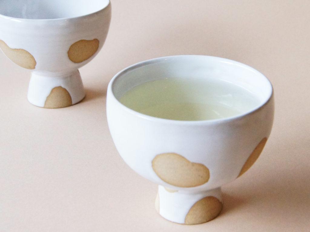 mug cup 足つきゆのみ 陶器 ceramic